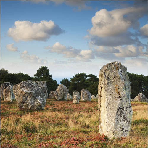 Autocolante decorativo Megaliths in Carnac