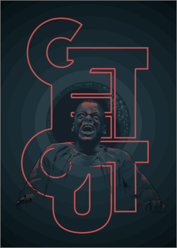 Póster Premium Get out