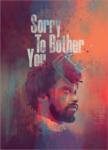 Póster Premium Sorry To Bother You