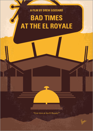 Póster Premium Bad Times At The El Royale
