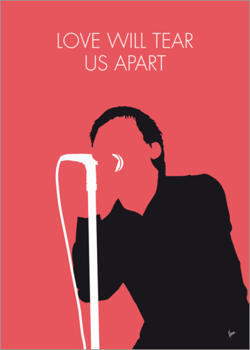 Póster Premium Joy Division - Love Will Tear Us Apart