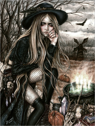 Póster Premium The Season Of The Witch