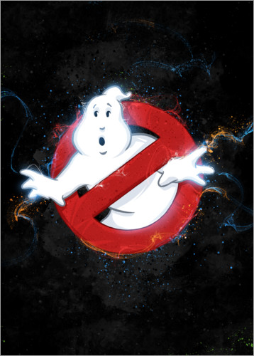 Póster Premium Ghostbusters