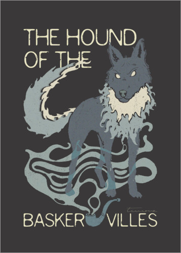 Póster Premium The Hound of the Baskervilles