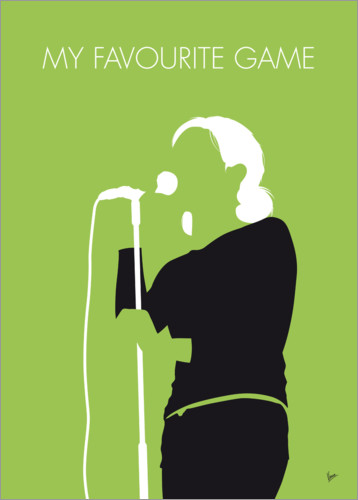 Póster Premium The Cardigans - My Favourite Game