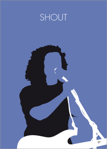 Póster Premium Tears for Fears - Shout