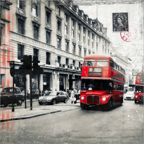 Autocolante decorativo Postcard From London | 03