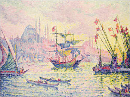 Autocolante decorativo  Constantinople - Paul Signac