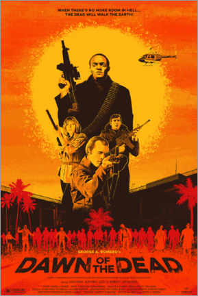 Póster Premium  Dawn of the Dead - Entertainment Collection