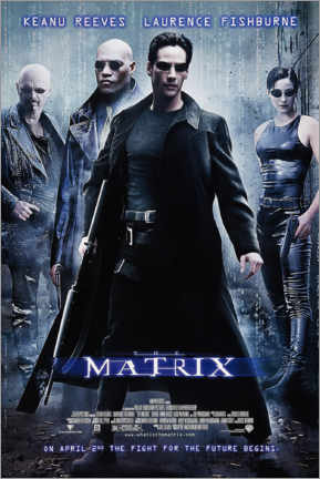 Quadro em plexi-alumínio  The Matrix (inglês) - Entertainment Collection