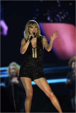 Póster Premium  Taylor Swift in concert, F1 Circuit of the Americas, Texas 2016