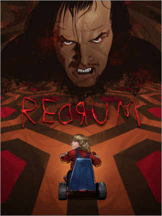 Póster Premium The Shining