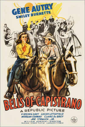 Póster Premium  Bells of Capistrano - Entertainment Collection
