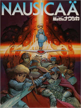 Quadro em PVC  Nausicaä of the Valley of the Wind - Entertainment Collection
