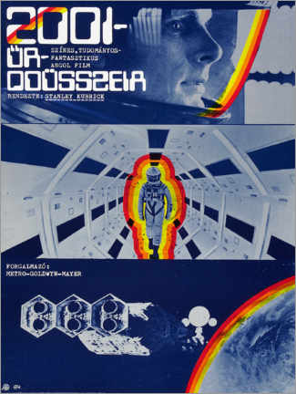 Quadro em tela  2001: A Space Odyssey - Advertising Collection