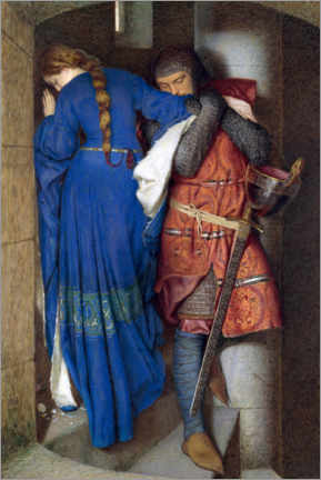 Autocolante decorativo  Encontro na Torre - Frederic William Burton