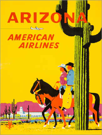 Póster Premium  Arizona - Travel Collection