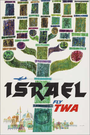 Póster Premium  Israel - Travel Collection