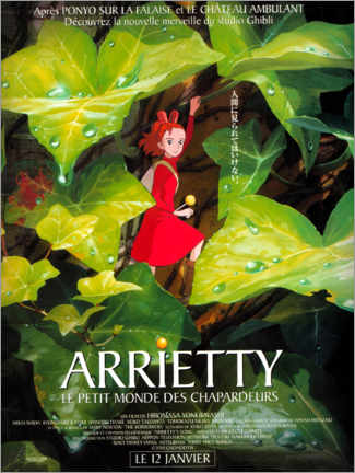 Póster Premium  Arrietty (francês) - Entertainment Collection