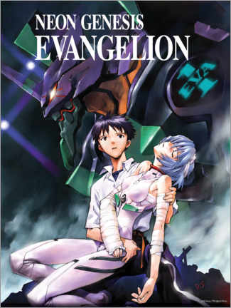 Autocolante decorativo  Neon Genesis Evangelion - Entertainment Collection