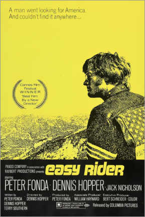 Póster Premium  Easy Rider - Entertainment Collection