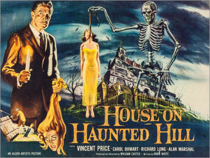 Póster Premium House on Haunted Hill