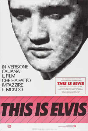 Quadro em plexi-alumínio  This is Elvis - Entertainment Collection