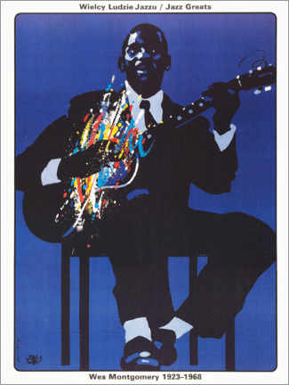 Póster Premium  Wes Montgomery 1923 - 1968 - Entertainment Collection