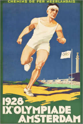 Póster Premium  IX. Olympiade 1928 - Entertainment Collection