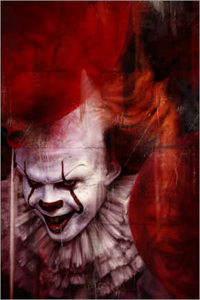 Póster Premium Pennywise
