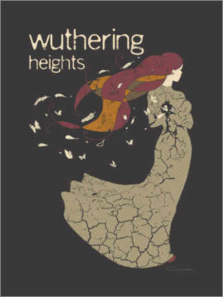 Póster Premium Wuthering Heights