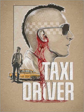 Póster Premium  Taxi Driver - The Usher designs