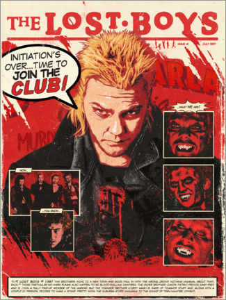 Póster Premium  The Lost Boys - The Usher designs