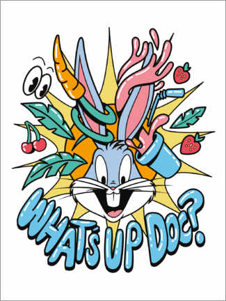Póster Premium  Bugs Bunny - What's Up Doc?