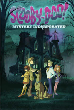 Póster Premium  Scooby Doo - Mystery Incorporated