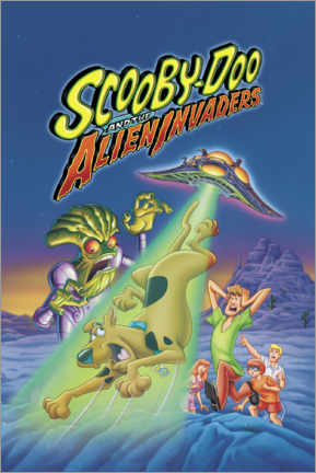 Póster Premium  Scooby-Doo And The Alien Invaders