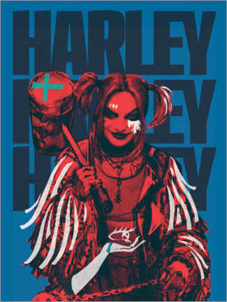 Póster Premium  Mad Harley