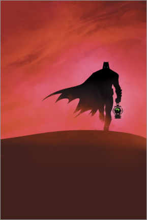Póster Premium  Batman - Last knight on earth