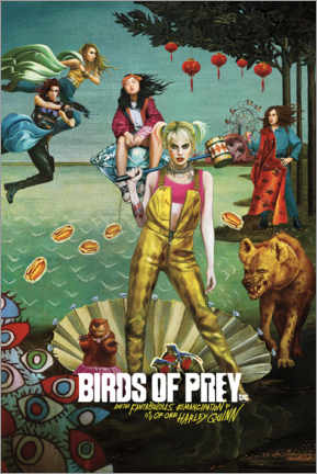Póster Premium  Birds of Prey - Venus