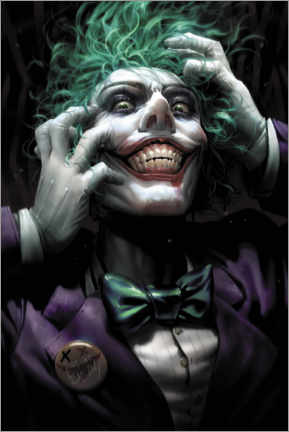 Póster Premium  The Joker - DC Comics