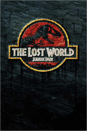 Quadro de madeira  The Lost World - Jurassic Park