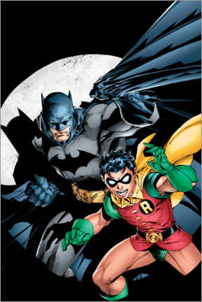 Póster Premium  Batman and Robin