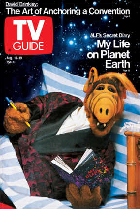 Póster Premium  ALF - My Life on Planet Earth - TV Guide