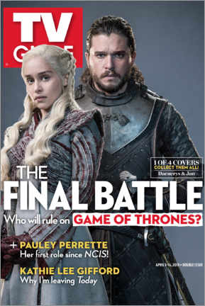 Póster Premium  Game of Thrones - The final battle - TV Guide