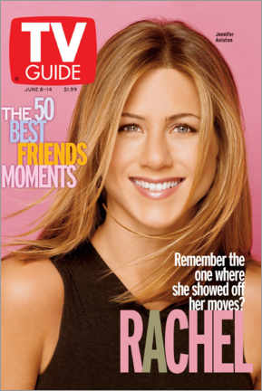 Póster Premium  Rachel - Friends - TV Guide
