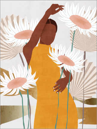 Póster Premium  Sun Kissed Woman II - Melissa Wang