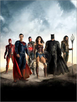 Póster Premium  The Justice League
