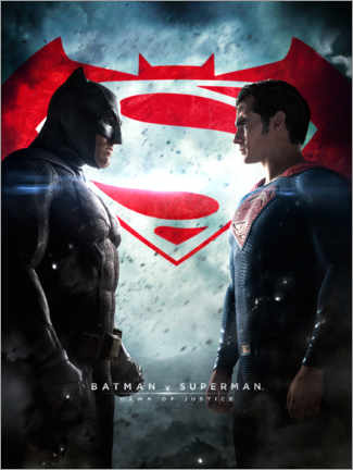 Póster Premium  Batman v Superman: Dawn of Justice 2016