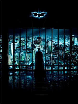 Póster Premium  Batman - The Dark Knight 2008 - Gotham