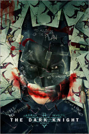 Póster Premium  Batman - The Dark Knight